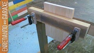getlinkyoutube.com-Como hacer un tornillo de banco de carpintero