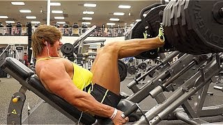 getlinkyoutube.com-Leg Workout w/ Jeff Seid