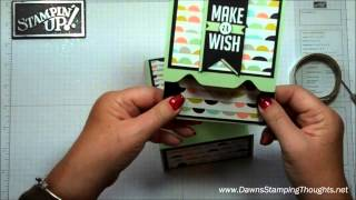 getlinkyoutube.com-Envelope Punch Board gift card holder with Dawn