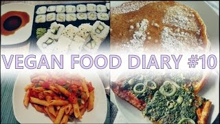 getlinkyoutube.com-Vegan Food Diary #10 - Spinat , Sushi, Pfannkuchen & co.