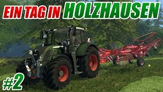 getlinkyoutube.com-[LS15] Gras silieren | Ein Tag in Holzhausen #2 | 60 FPS