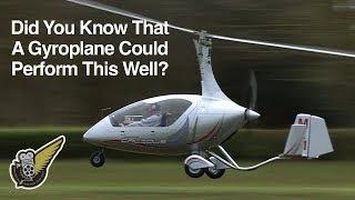 getlinkyoutube.com-Calidus Gyrocopter aerial handling display