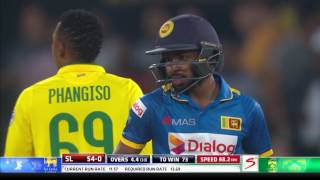 South Africa vs Sri Lanka - 1st T20 - SL Innings Highlights