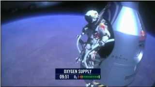 getlinkyoutube.com-Felix Baumhartner skok z kosmosu.FLV