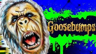 GOOSEBUMPS Learn How To Draw ABOMINABLE SNOWMAN MONSTER.  Speed Drawing