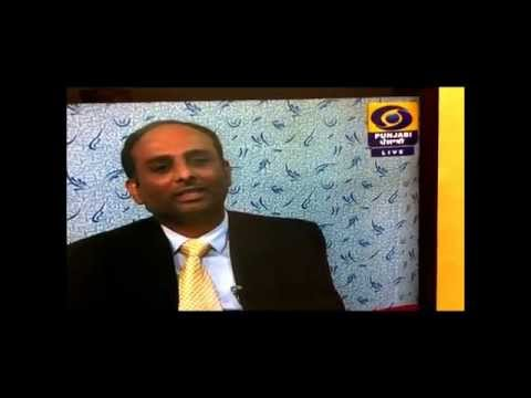 Mintu Brar on DD Jalandhar 5 feb 2014