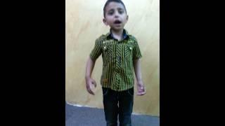 getlinkyoutube.com-أفضل طفل في قراءة الشعر عنترة بن شداد  حكم سيوفك في رقاب العذل