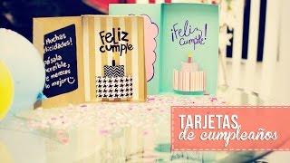 getlinkyoutube.com-Tarjeta de cumpleaños 3D -Anie