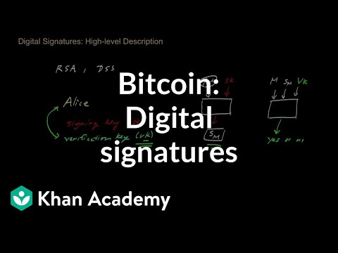 Bitcoin - Digital Signatures