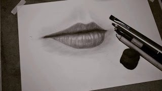 getlinkyoutube.com-Hướng Dẫn Vẽ Môi Như Thật - HOW TO DRAW LIP 💋