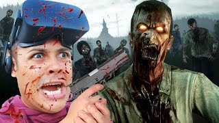 getlinkyoutube.com-SHOOT ZOMBIES IN FIRST PERSON VIRTUAL REALITY!!! (Oculus Rift Games)