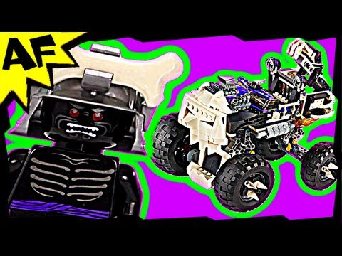 Lego Ninjago Lord Garmadon & SKULL TRUCK 2506 Animated Building Review
