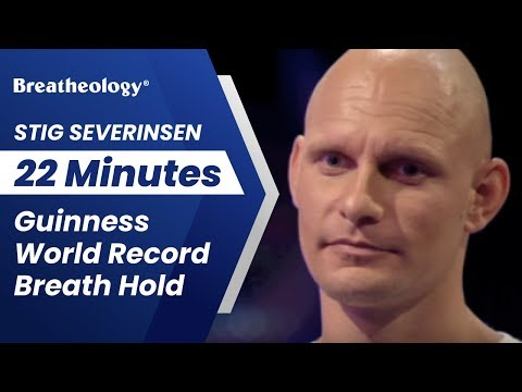 Stig Severinsen - 22 Minutes Guinness World Record Breath Hold