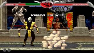 getlinkyoutube.com-Mortal Kombat Chaotic - UMK3 Scorpion playthrough