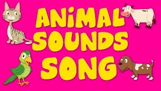getlinkyoutube.com-Animal Sound Song | Nursery Rhyme For Kids | Kids Song