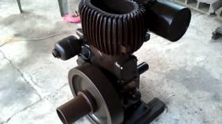 getlinkyoutube.com-Wolseley engine Thailand (เครื่องยนต์โบราณ)