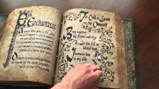 getlinkyoutube.com-Full Flip through of My Charmed Book of Shadows Replica
