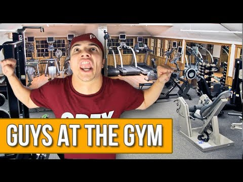 GUYS AT THE GYM