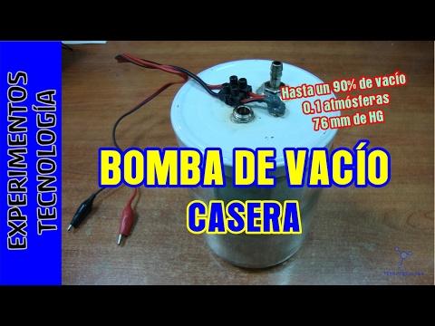 Bomba de VACIO Casera