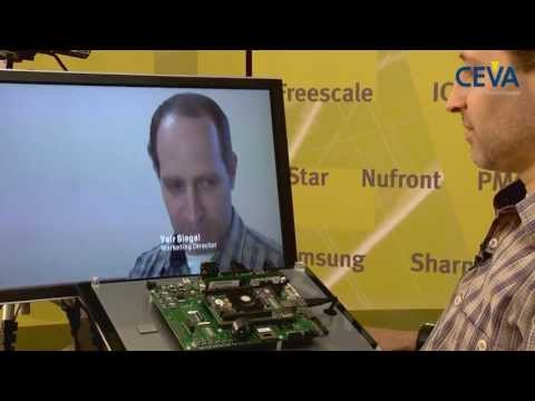 CEVA Natural User Interface - Face Recognition demo