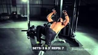 getlinkyoutube.com-Greg Plitt's MFT28 Day 1, Chest Dominance Bodybuilding com