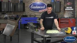 getlinkyoutube.com-How to Make a Body Panel from Scratch!  Great Cowl Panel Sheet Metal Fab from Eastwood