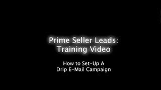 getlinkyoutube.com-How to Set-up a Drip E-Mail Campaign - Old