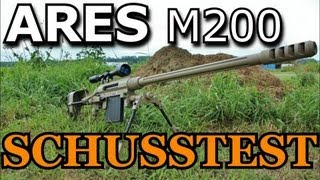 getlinkyoutube.com-ARES M200 Sniper Schusstest (GsP Airsoft) GERMAN