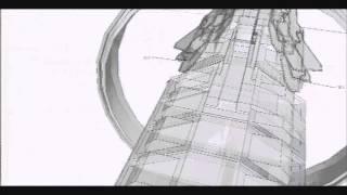 getlinkyoutube.com-Google Sketch Up SpaceShip Modeling - TFS KONGOU MK I