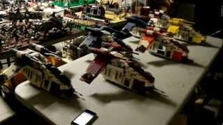 getlinkyoutube.com-Misery Productions Custom LEGO Star Wars Republic Gunships (7676)