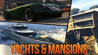 getlinkyoutube.com-GTA 5 Online NEW Executives DLC Trailer Breakdown: MANSIONS, YACHTS & APARTMENT CUSTOMIZATION!