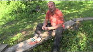 getlinkyoutube.com-So baut man einen Survival Rindentopf mit dem man auf offener Flamme kochen kann