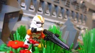 getlinkyoutube.com-Lego Star Wars The Clone Wars HUGE Clone Base on Corellia MOC