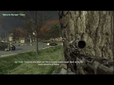 10. Call of Duty: Modern Warfare 2 - HD Veteran Difficulty Walkthrough - Wolverines! part 2/3