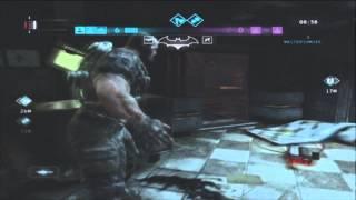 getlinkyoutube.com-Batman Arkahm City Origins Online Gameplay: Banes BACKBREAKER