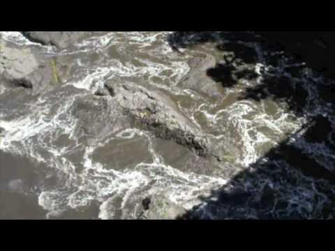 Tsunami in Hilo Bay - February, 2010