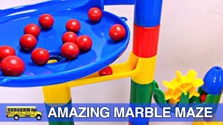 getlinkyoutube.com-Toddler Learning Colors - Fun Marble Maze Teaching Colours for Children Organic Learning