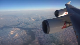 getlinkyoutube.com-Qantas 747-400 BUSINESS Class: New York - Los Angeles - Sydney (QF18)