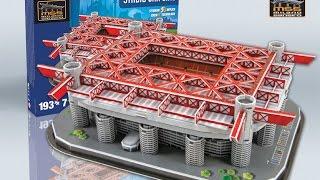 "getlinkyoutube.com-""Estadio San Siro / Giuseppe Meazza""   Nanostad - Puzzle 3D"