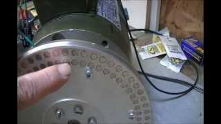 getlinkyoutube.com-Lenz's effect heating with RV motor 001