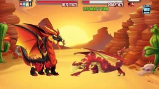 getlinkyoutube.com-Dragon City: All Goldrush Battles / Weaknesses