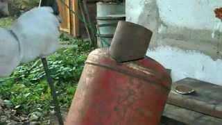 getlinkyoutube.com-Гриль-коптильня. Часть 2 Smoker grill. Part 2