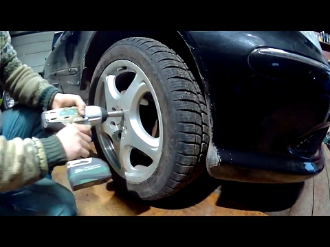 Замена нижнего рычага передней подвески   Mercedes s500 w220