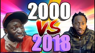 LES ANNEES 2000 VS AUJOURD'HUI - JAYMAXVI