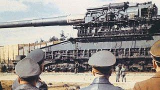 getlinkyoutube.com-World's BIGGEST / MOST POWERFUL GUN ever built (and used in combat)! (Heavy Gustav Railway Gun.)