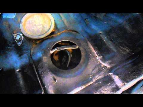 Mitsubishi Colt, бензонасос ремонт