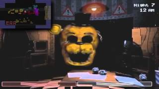 getlinkyoutube.com-(10+ subscribers special ^-^) Golden Freddy has a Sparta Remix