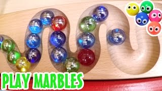 Indoor playground fun play Kugelbahn collection play Marbles type Kugelbahn❤Playground Fun Play