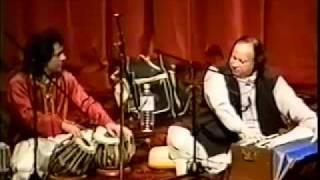 getlinkyoutube.com-Ustad Tari Khan And Ustad Nusrat Fateh Ali Khan Live  Washington DC