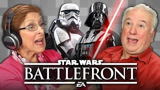 getlinkyoutube.com-ELDERS PLAY STAR WARS BATTLEFRONT (Elders React: Gaming)